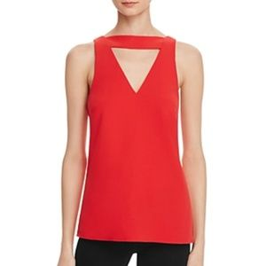 C/Meo Women Collective All Cried Out Top Red